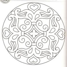 magyar motívum Mosaic Patterns, Quilt Patterns, Printable Adult Coloring Pages, Blue Pottery, Mandala Coloring Pages, Mandala Painting, Rug Hooking, Fabric Dolls, Wood Carving