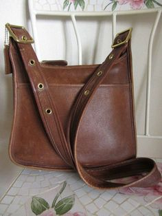 COACH Vintage Dark Brown Legacy 9966