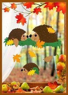 Risultati immagini per herbst paper craft Kids Crafts, Diy And Crafts, Arts And Crafts, Paper Crafts, Diy Paper, Autumn Crafts, Autumn Art, Christmas Crafts For Kids, Harvest Crafts