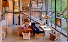 Heinz Julen Ultra-Contemporary Mountain Chalet Loft Apartment | iDesignArch | Interior Design, Architecture & Interior Decorating eMagazine