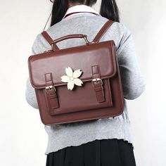 """Students cute uniform cherry blossom backpack. Use this coupon code """"Edin"""" to get all 10% off!"""