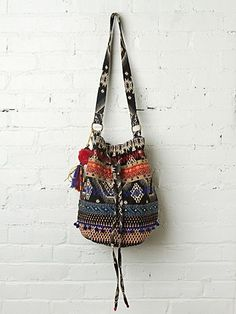 Free People Geisha Bucket Bag - reminds me of a bag I had in the 90's