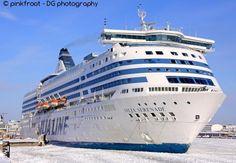 Silja Serenade found via cruise ship tracker shipfinder.co
