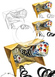 Create, Design, Drawings, Object Drawing