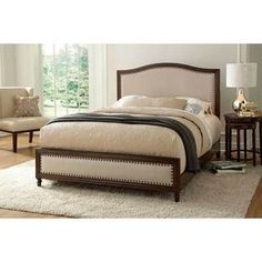 Leggett & Platt Fashion Bed Group Grandover Wooden Platform Bed in Espresso (Brown) Finish (Queen) Adjustable Beds, Wood Beds, Bed, Furniture, Bed Styling, Upholstered Beds, Wood And Upholstered Bed, Solid Wood Bed, Bedroom Furniture