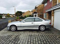 1997 (P) E36 M3 evo Coupe, Manual. Arctic Silver, Dark Cloth/Alcantara (1997)  £7,250