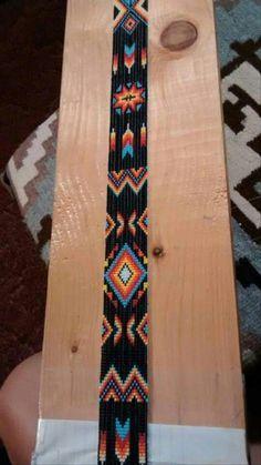 off loom beading techniques Loom Bracelet Patterns, Seed Bead Patterns, Bead Loom Bracelets, Beading Patterns, Beading Ideas, Jewelry Patterns, Beading Supplies, Native Beadwork, Native American Beadwork