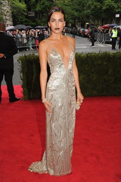 Camilla Belle at the 2012 Met Gala in Ralph Lauren