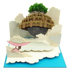 Floating in the Sankei Studio Ghibli mini sky Laputa-Cast...