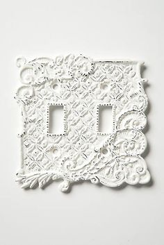Tin Roof Switch Plate, Double