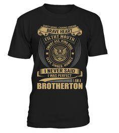 BROTHERTON - I Nerver Said