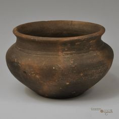 A wheel-thrown biconical bowl or… Ancient Vikings, Wheel Thrown Pottery, Viking Age, Anglo Saxon, Picts, Dark Ages, Chinese Style, Archaeology, Scandinavian