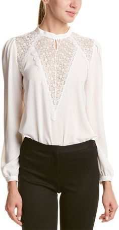 Business Casual Outfits, Professional Outfits, Classy Outfits, Stylish Outfits, Cute Outfits, Blouse Styles, Blouse Designs, Lace Tops, Chiffon Tops