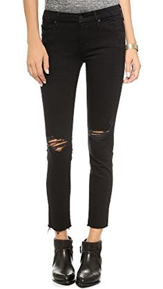 MOTHER Womens The Looker Frayed Ankle Jeans Guilty As Sin 27 -- Details can be found by clicking on the image.(This is an Amazon affiliate link and I receive a commission for the sales)