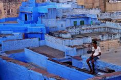 Boy in the blue. India by fredcan, via Flickr