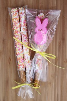 Easter treat wrapping idea