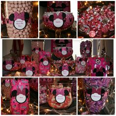 minnie mouse first birthday ideas candy buffet photos candy buffets in massachusetts