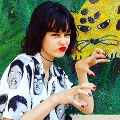 Consulta esta foto de Instagram de @emma_nana_hana • 12 Me gusta Emma Style, N Girls, Japanese Models, Outfit Of The Day, Beautiful People, Cool Hairstyles, Cool Style, Instagram, Style Inspiration