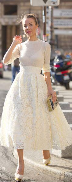 Street Style | Ulyana Sergeenko