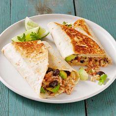 burrito recipes including crispy bean and cheese. Entree Recipes, Veggie Recipes, Burrito Recipes, Fish Recipes, Seafood Recipes, Mexican Food Recipes, Veggie Meals, Mexican Dishes, Vegetarian Dinners