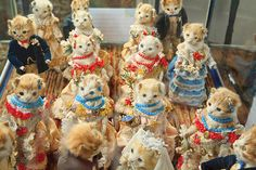 Morbid Anatomy: Anthropomorphic Victorian Taxidermist Walter Potter Very Spectacularly in the News! Kitten Images, Cat Wedding, Tumblr, The Guardian, Bunny, Museum, Victorian, Pictures, Photos
