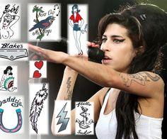 """Como todos sabemos, la artista más importante del """"Soul"""" de la última década destacaba por su afición por los tatuajes."""