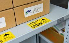 BESSERDRUCKEN: Lagerplatz-Etiketten selber drucken Für eine effiz... Tech Companies, Printer, Company Logo, Printers
