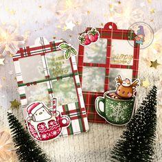 mama elephant | design blog: STAMP HIGHLIGHT: Hot Cocoa Christmas Night, Christmas Crafts, Christmas Tags Handmade, Handmade Cards, Mama Elephant, Gingerbread Crafts, Elephant Design, Holiday Messages, Winter Cards