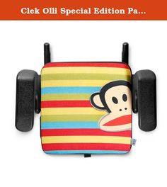 Clek Olli Special Edition Paul Frank Backless Booster Seat, Zoom Julius. The Clek Olli is an award-winning belt-positioning, latching backless booster. It says to your 6-12 year old that it's still cool to be safe in the car. Olli boosts your child's height ensuring that the vehicle's seat belt fits them just right while an additional layer of padding eliminates numb-bum syndrome. Easily transportable from vehicle to vehicle and especially handy while traveling from airport to rental car…