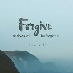 Mathew West has a song, 'Forgiveness', that talks about how important it is. It's something that is sorely needed in the world today. Forgiveness does more for the person forgiving than the person being forgiven.