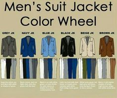 suit jacket pairings
