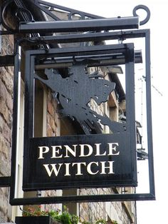 "Magick Wicca Witch Witchcraft:  ""Pendle Witch"" Pub Sign, Lancaster, England, by CoasterMadMatt, via Flickr."