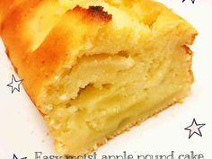 しっとり りんご パウンド ケーキ (バターとオイルで)