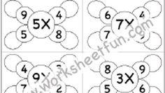 Multiplication - 6 Worksheets