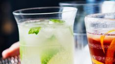 Image: Moscow Mule and Negroni Cocktail Recipes, Cocktails, Drinks, Beverages, White Russian Cocktail, Sainsburys Recipes, Lime Wedge, Ginger Beer, Moscow Mule