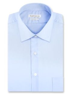 Van Heusen Blue Crystal  ular-Fit Dress Shirt