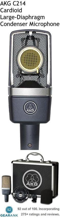 AKG C214 Cardioid Large-Diaphragm Condenser Microphone. This is one of the highest rated vocal recording mics.  For a detailed guide to the Best Studio Mics For Vocals see https://www.gearank.com/guides/vocal-studio-mics