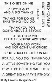 MFT STAMPS: Gift Card Greetings – Doodlebugs