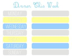 Whatever Dee-Dee wants, she's gonna get it: Project Organize My Life: Meal Planner.  Put into a frame and use dry erase markers.  She has 2 other colour choices if blue and yellow aren't your favourite.