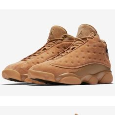 big sale 66af8 80476 Extra Off Coupon So Cheap Men s Nike Air Jordan 13 Retro Wheat Element Gold  Brown