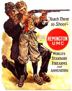 Father + Son Shooting | Remington Advertisement