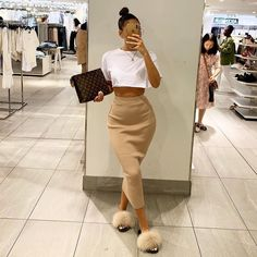 Fashion 2019 New Moda Style - fashion Dope Outfits, Swag Outfits, Cute Casual Outfits, Stylish Outfits, Pink Outfits, Dress Casual, Pastel Outfit, Black Girl Fashion, Look Fashion