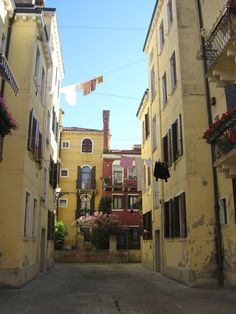 Jewish Ghetto, Venice, Italy. Quiet, scenic, rustic. May 2011.