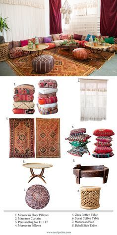 A Bohemian Moroccan Corner in the studio. See the pieces that help this look com. - A Bohemian Moroccan Corner in the studio. See the pieces that help this look come together! All ava - Meditation Room, Floor Sitting, Moroccan Decor Living Room, Floor Seating, Cottage Style Kitchen, Floor Seating Living Room, Living Room Decor, Morrocan Decor, Apartment Decor