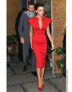 Купить красное платье футляр