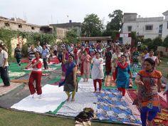 camp in rajasthan with blessings of yoga guru baba Ramdev World Yoga Day, Baba Ramdev, International Yoga Day, Blessings, Blessed, Street View, Camping, Campsite, Campers