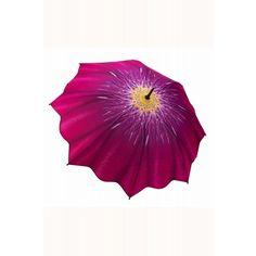 Pink Flower Umbrella