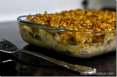 Chicken Cordon Bleu Casserole - Supper for a Steal.   LOVE THIS RECIPE! I use…