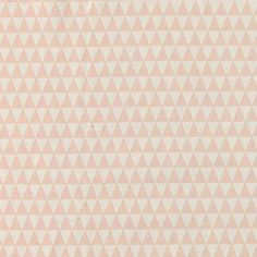 Bomull ubleket/pudder trekanter