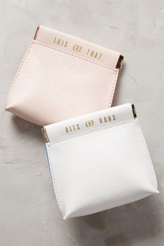 Cute pouches to keep your purse organized